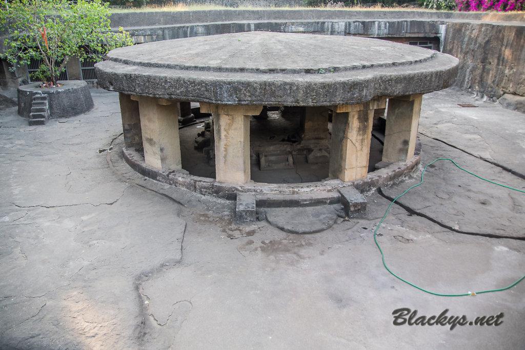 Tempel ca 900 A.D