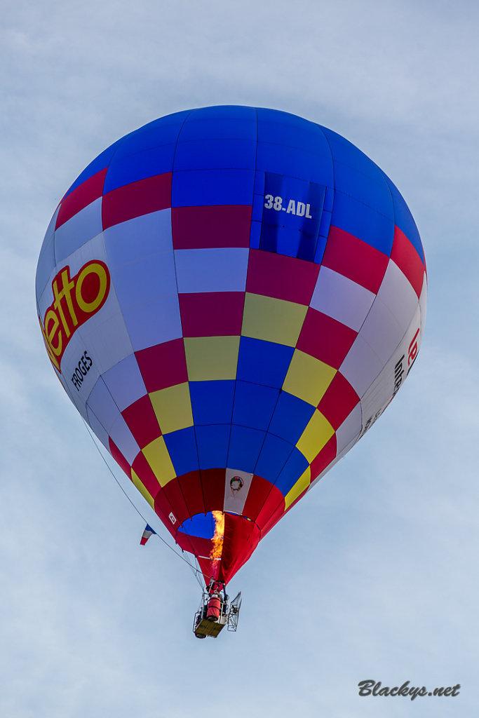 steuerbarer Ballon